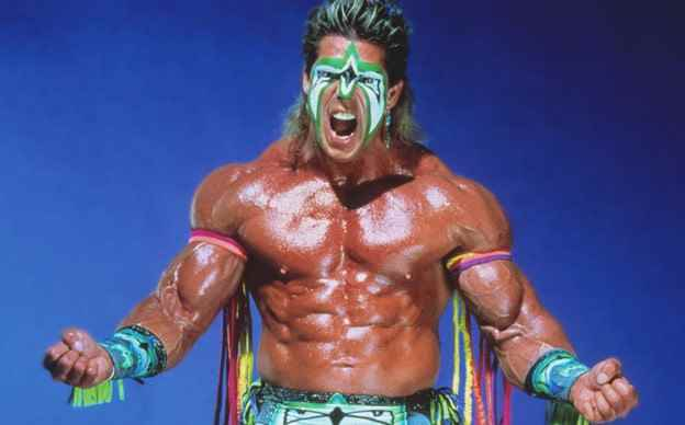 Wrestler The Ultimate Warrior (James Brian Hellwig)