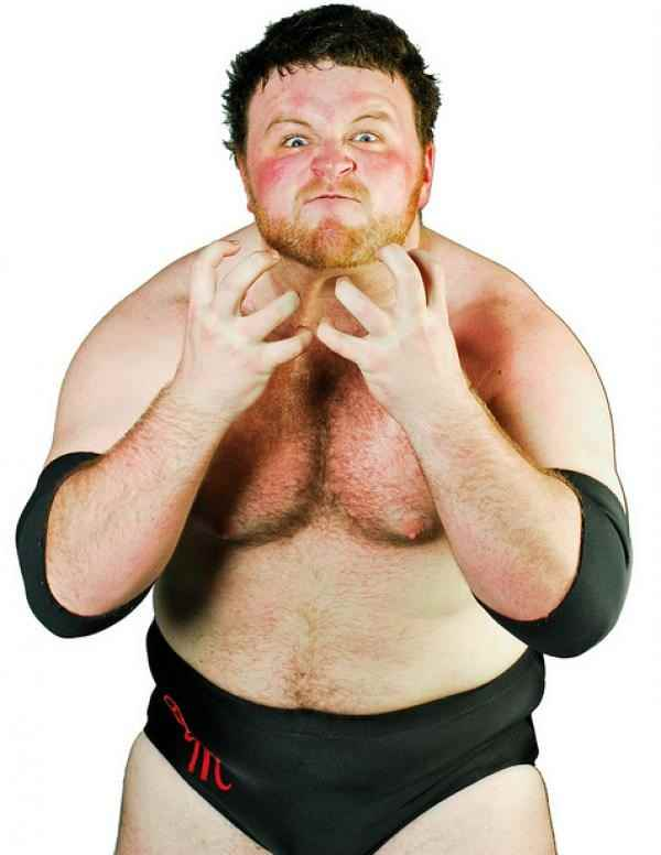 Wrestler Dave Mastiff (David  Minton)
