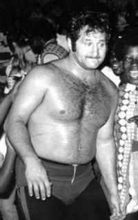 Wrestler Boris Malenko (Lawrence Boris Simon)