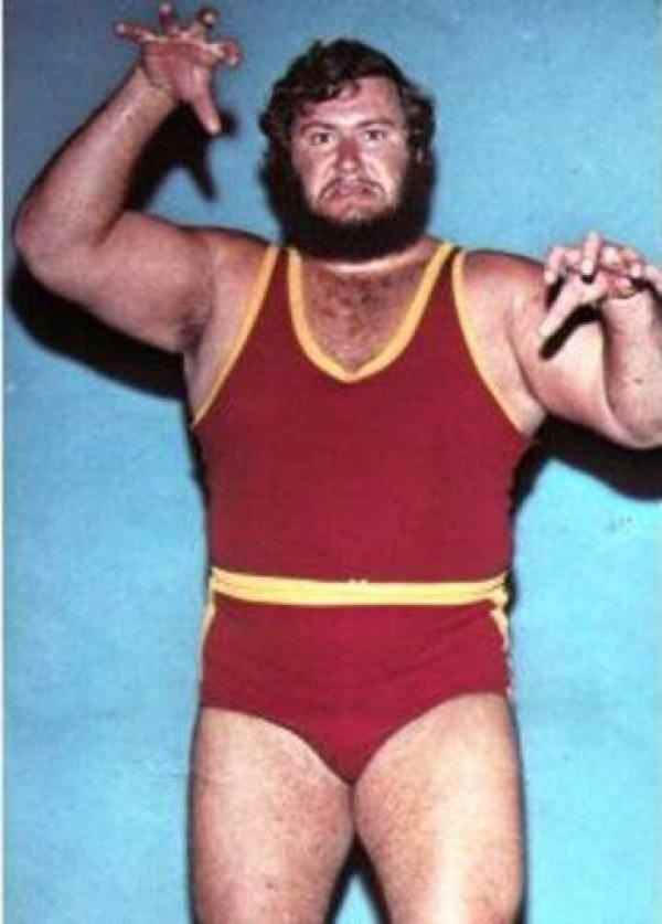 Wrestler Gilles Poisson (Charles Berger)