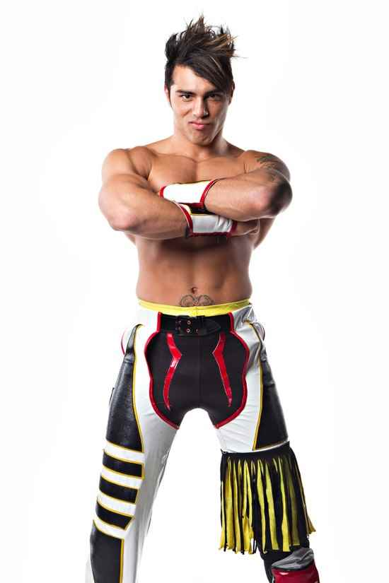 Wrestler Zema Ion (Michael  Paris)
