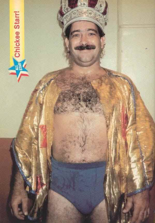 Wrestler Chicky Starr (Jose Anibal Laureano Colon)