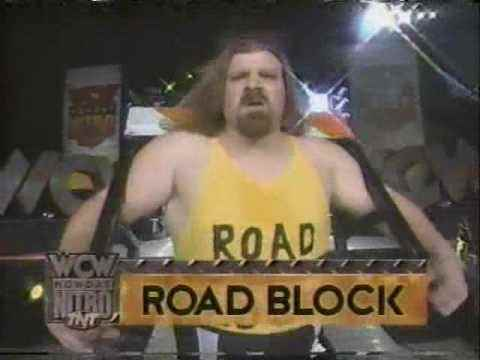 Wrestler Roadblock (Joe D'Acquisto)