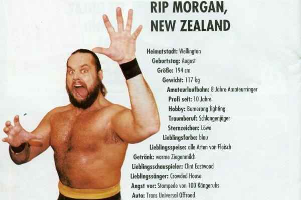 Wrestler Rip Morgan (Mike Morgan)