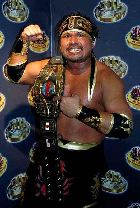 Wrestler Rey Escorpion (Fabian Nunez Napoles)