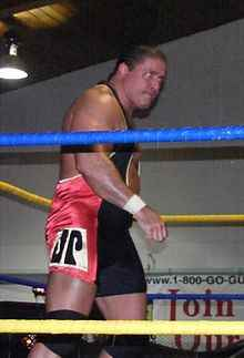 Wrestler Jim Powers (James  Manley)