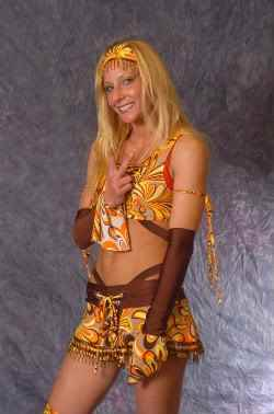 Wrestler Daizee Haze (Emily Sharp)
