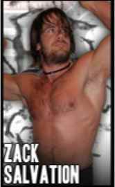 Wrestler Zack Salvation