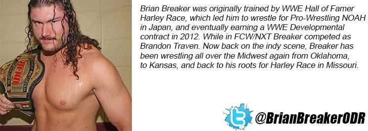 Wrestler Brian Breaker (Ryan  Collins)