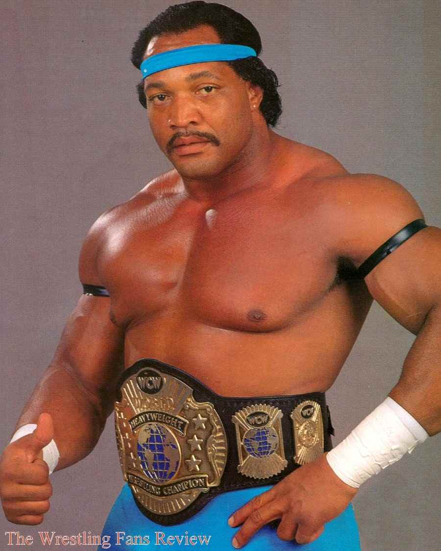 Wrestler Ron Simmons (Ron  Simmons)