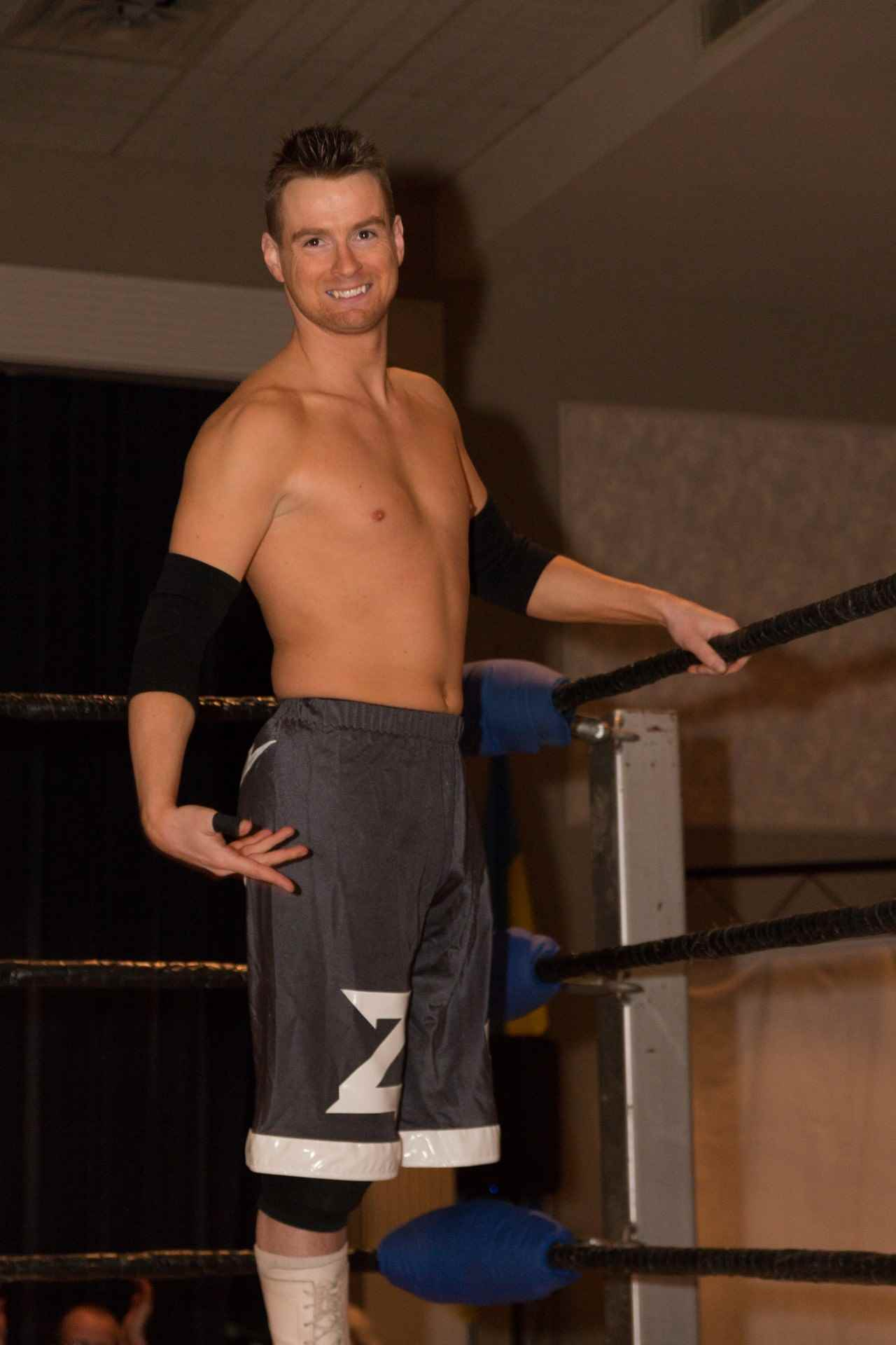 Wrestler Zach Gowen (Zachary Mark Gowen)