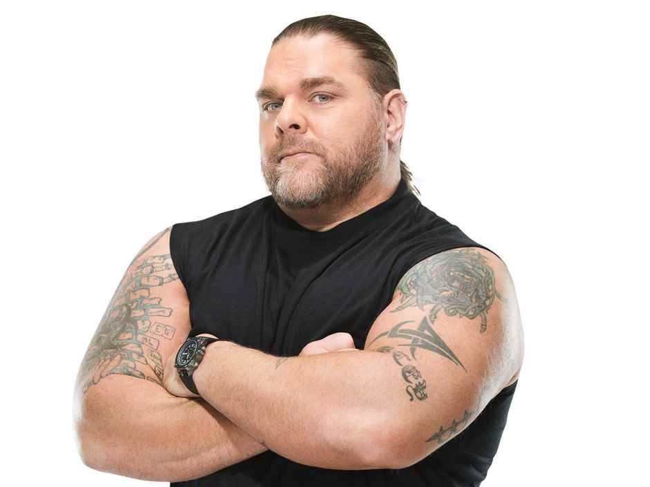 Wrestler Bill DeMott (William  DeMott)