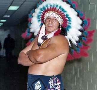 Wrestler Jay Strongbow, Jr.