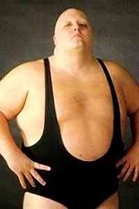 Wrestler King Kong Bundy (Chris Pallies)