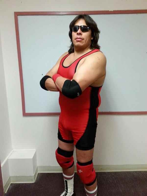 Wrestler Red Thunder (Morris  Nepoose)
