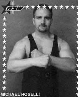 Wrestler Mike Roselli